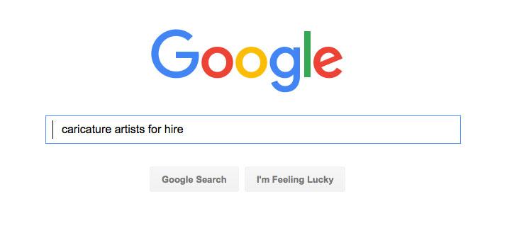 google-caricature-artists-hire